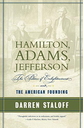 Hamilton, Adams, Jefferson