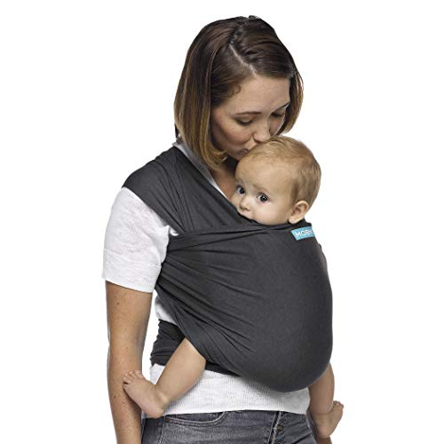 Product Image of the Moby Wrap Baby Carrier | Evolution | Baby Wrap Carrier for Newborns & Infants |...