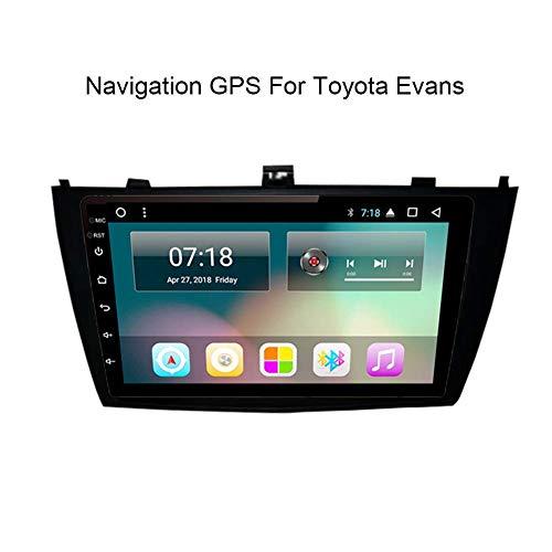 Nav para Toyota Avensis 2009-2015 Sistema de navegación GPS Navigator satélite Reproductor de DVD Rastreador Bluetooth estéreo de Radio Auto WiFi Pantalla táctil de la cámara Trasera