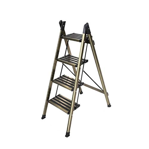Opklapbare ladder 2 Steps / 3 Steps / 4 stappen Stap Kruk, aluminium legering Car Wash Ladder Eethuis Plank/Trappen/Slip Stripe Patterned Pedal Multifunctioneel