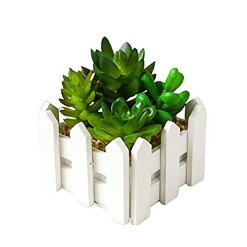 KANKOO Kunstpflanzen Zimmerpflanzen Gartendekoration Moderne künstliche Topfpflanze Zimmerpflanze Zimmerpflanzen Künstliche Pflanzen Wohnkultur Green 2