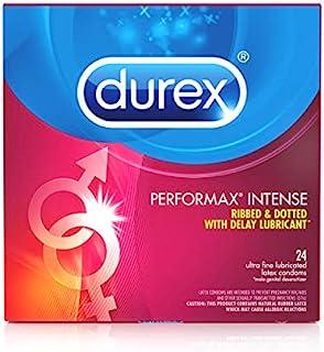 Durex Performax Intense Condom, 24 ct (Pack of 3)