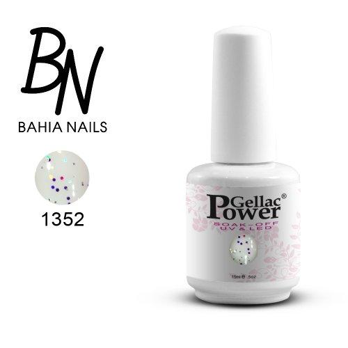 Bahia Nails - Power Gellac Tenue Parfaite? Vernis à Ongles UV Ou LED Semi Permanent 15 ml. 1352
