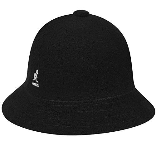 Kangol - Sombrero Campana - Cloche hombre Bermuda casual - talla M - black