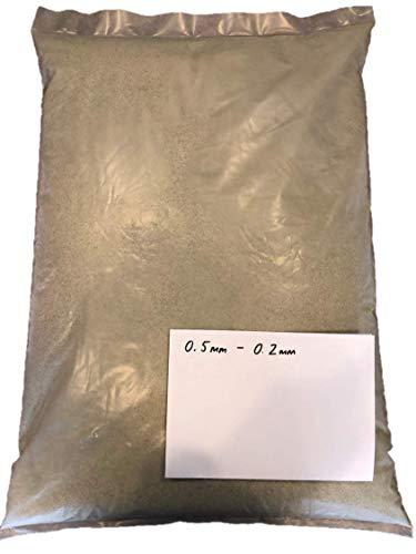 Bolsa de arena de vidrio de 25 kg