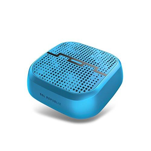 Sol Republic Punk Wireless Bluetooth Lautsprecher (Spritzwasser und Stoßfest) Blau