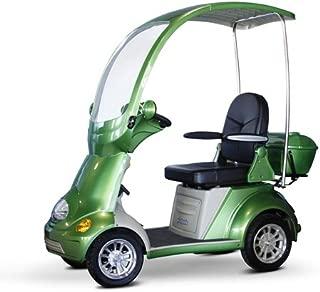 EWheels (EW-54) 4-Wheel Full Covered Scooter with Electromagnetic Brakes, Green - BMC-EWH EW-54G