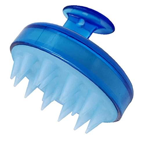 nJiaMe Cabello Cuidado del Cabello del Cuero cabelludo masajeador Cepillo champú Suave de Silicona Peine de Limpieza Profunda del Cuero cabelludo Hombres Mujeres Niños