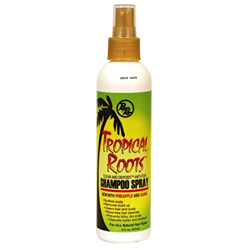Bronner Brothers Tropical Roots Shampoo Spray, 8 Fl Oz