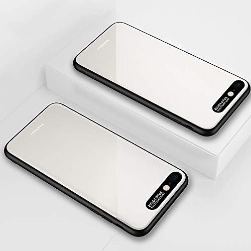 Moonbaby Funda de protección acrílica TPU Lycra Series Eye Protection for iPhone 6s Plus (Negro) Bueno (Color : White)