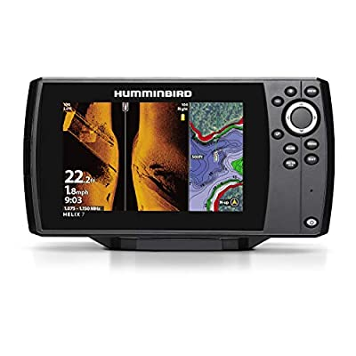 Hummingbird 410950-1 HELIX 7 CHIRP MSI (MEGA Side Imaging) GPS G3 Fish Finder