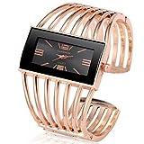 Belles montres, Femme Montre Bracelet Quartz Chronographe Mignon Design nouveau Acier...