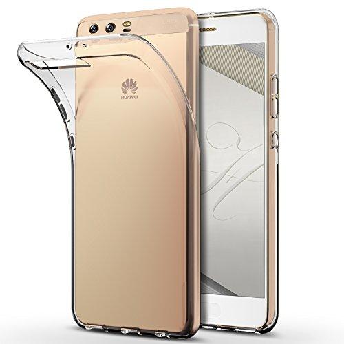 Mture Huawei P10 Plus hülle, Crystal Clear Schutzhülle Huawei P10 Plus Ultradünn Weich Flexibel Silikon Bumper Anti-Scratch Durchsichtiges hülle für Huawei P10 Plus Case Cover