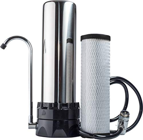 The Stainless Steel Countertop Lead Reduction Water Purifier...
