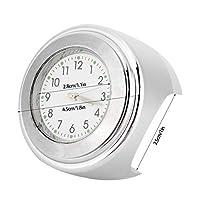 Watch Clock Dial Watch Wear - 安全なライディングの外観をアップグレード(Silver)