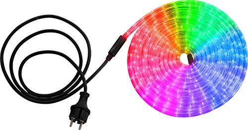 Traditionnelle Tuyau LED en plastique Rouge/jaune/vert/bleu/multicolore LED 0,06 W GLOBO – 38966 –