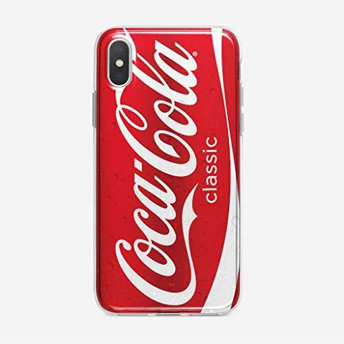 KOUHONGYU Funda iPhone XR Case Clear Transparent Soft TPU Cover Chi bi Marvl Her OES Phonec_170