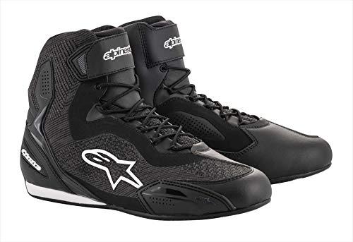 Alpinestars Motorradstiefel Faster-3 Rideknit Shoes Black, 40