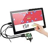 cocopar®Raspberry pi /3B+3B/2B//B+/A+ /A/B/Zero用13.3インチIPS(1920*1080)HDMI/mini VGA LCD タッチスクリーン タッチモニター タッチパネル【ws-133tb】