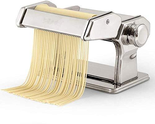 YONGRU Pasta-Hersteller-Maschine Kurbel-Rollschneider Nudel-Hersteller am besten for Hausgemachte Nudeln Spaghetti-Frischeteig, die Werkzeuge Rollen