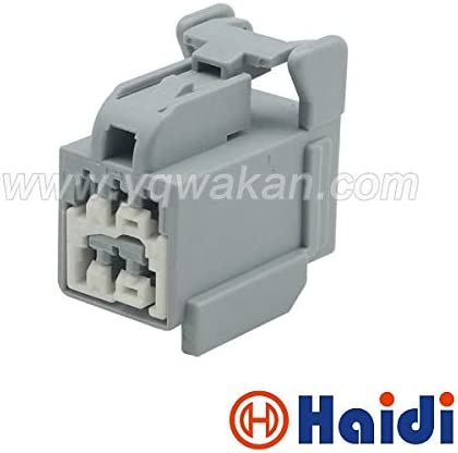 Gimax 2sets 6pin auto Female Wiring Plug Automotive Electrical connectors 7283-5532-40 - (Color: 2sets)