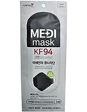 Medi Mask Korea NanoFiber Filter Face Mask KF94 Black Colour