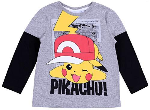 sarcia.eu grijze blouse Pikachu Pokemon