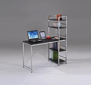 Acme Furniture Elvis Computer Desk With Shelves