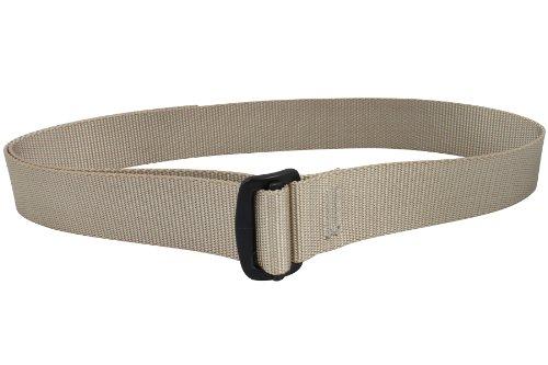 Bison Designs Guide USA Made 38mm Active Webbing Black Low Profile 7075 Aluminum Buckle Belt, Desert Sand, Large/42-Inch Waist