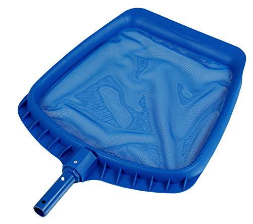Perfect Pools Laubkescher mit Aufnahmelippe, Poolkescher, Kescher - Blau