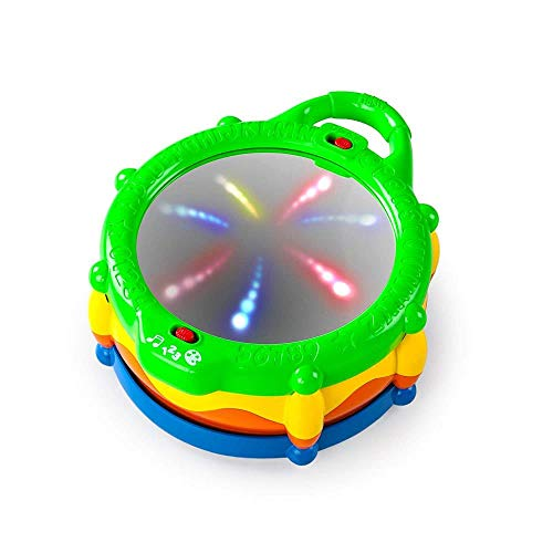 Z-NING Bright Starts Light & Learn Drum avec mélodies, 3 Mois + + A