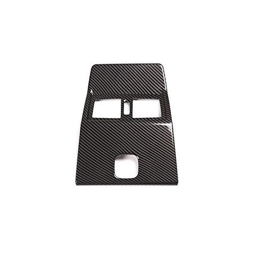 MeiZi Coche de Estilo de Fibra de Carbono Asiento Trasero Aire Acondicionado Aire Acondicionado Contenedor de ventilación Ajuste para Mercedes Benz G Class W463 2007-2018 Accesorio de Coche