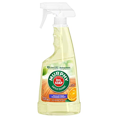 Murphy Oil Soap Wood Cleaner, Concentrated Original Spray, 650 ml / 22 Fl. Oz - 3 Packs