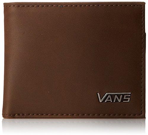 Vans - Portafoglio Suffolk, Uomo, Marrone (Brown),...