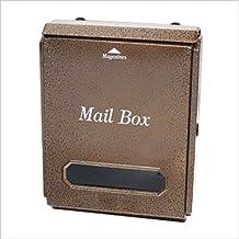 LEON (レオン) 壁掛け 郵便ポスト トラディショナルポスト シンプル壁掛けタイプ Mail Box LT-10