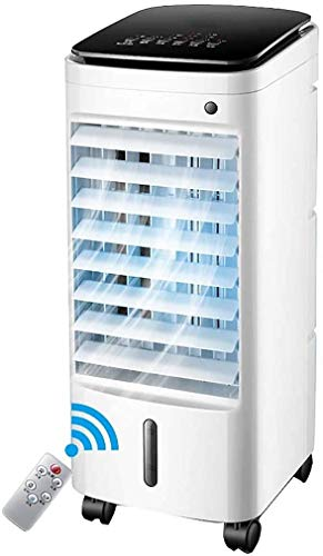 Evaporative Coolers Mobile Air-conditioning Fan Water-cooled Air Conditioner with Dehumidifier Evaporative Coolers for Home,Small Portable Air Cooler