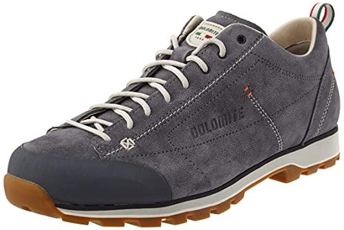 Dolomite Herren Zapato Cinquantaquattro Low Sneaker, GRIS Gunmetal/CANAPA BEIGE, 44 EU