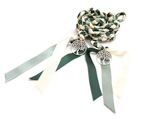 Forest Sage Tree of Life Wedding Handfasting Cord #Wedding #WeddingCeremony #DivinityBraid #Celtic #Handfasting #HandfastingCord #CelticWedding #CelticKnot