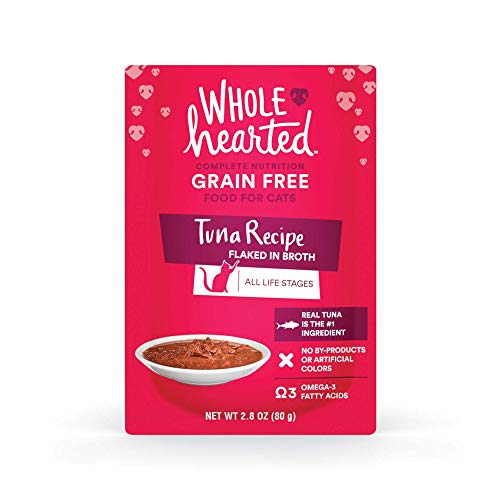 WholeHearted Flaked Tuna in Broth Wet Cat Food
