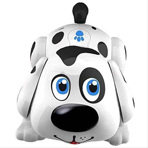 Faruxue Robot Perro Juguetes, Perro Electrónico Perro Interactivo Robot Juguete Camina, Ladra, Canta, Bailes, Responde Al Tacto, Juguetes para Perros para Niños