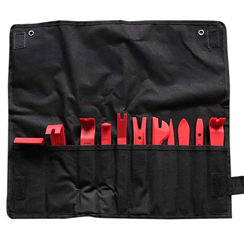 11 pièces Universal Auto Plastique Garniture Panneau de Porte fenêtre Moulage d'ameublement Clip Removal Tool Kit