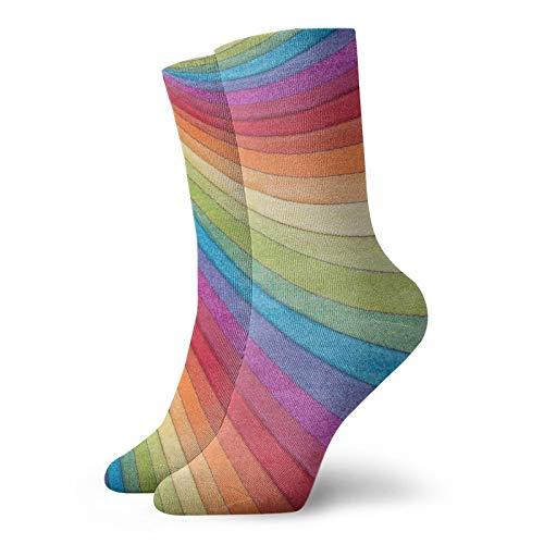 Calcetines cortos unisex para adultos, multicolor, de algodón, clásicos, para hombre, mujer, correr, fitness, deportes