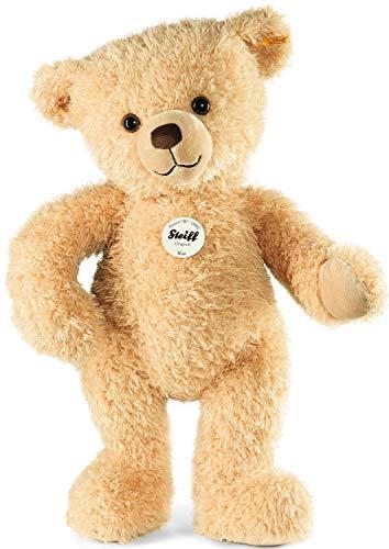 Steiff Kim Teddybär - 65 cm - Kuscheltier für Kinder - weich & waschbar - beige (013584)