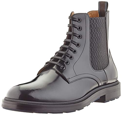 BOSS Herren Royal_Halb_boel Half Boot, Black1, 45 EU