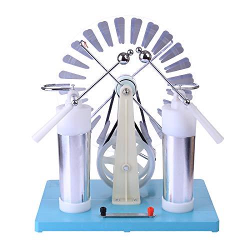 Poxl Wimshurst Machine, Physik Wimshurst Generator Elektrostatisch Static Machine für Kinder ab 12 Jahren