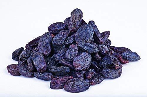 "Pasas orgánicas secas de uva ""Bukhara"" 1 kg, sin pepitas, Bio, de Comercio Justo de Uzbekistan, secado a la sombra, ecológicas, sin aceite añadido, bayas de gran tamaño, crudos 1000g"