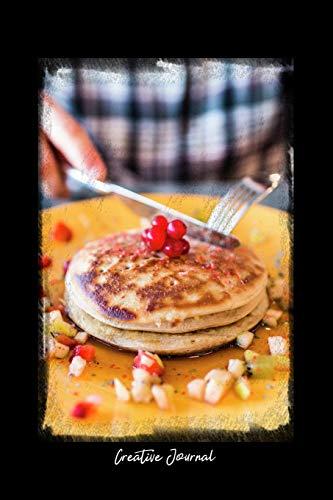 Creative Journal: Dot Grid Journal - Pancake Breakfast Snack...