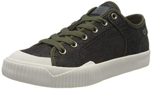 G-STAR RAW Herren Rackam Tendric Denim Sneaker, Schwarz (Black 8718-990), 41 EU