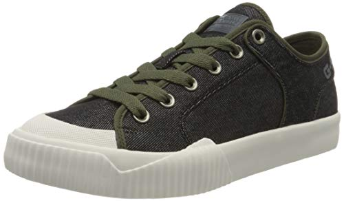 G-STAR RAW Herren Rackam Tendric Denim Sneaker, Schwarz (Black 8718-990), 41 EU