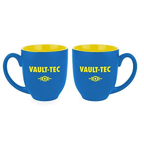 Gaya Entertainment 1028691 Oversize-Mug Vault-Tec GE3554, Blau/Gelb, Standard